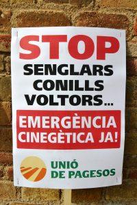 cartell emergencia cinegetica ja