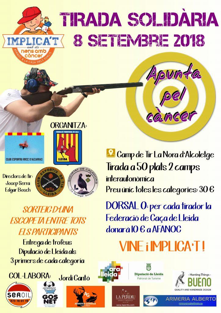 Tirada solidària contra el càncer 1