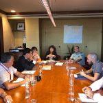 La consejera Teresa Jordà se reúne con los representantes de la Federación Catalana de Caza