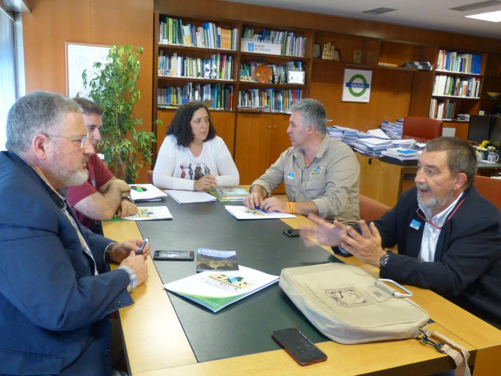 Reunió ACE i Mesa Galega por la Caza